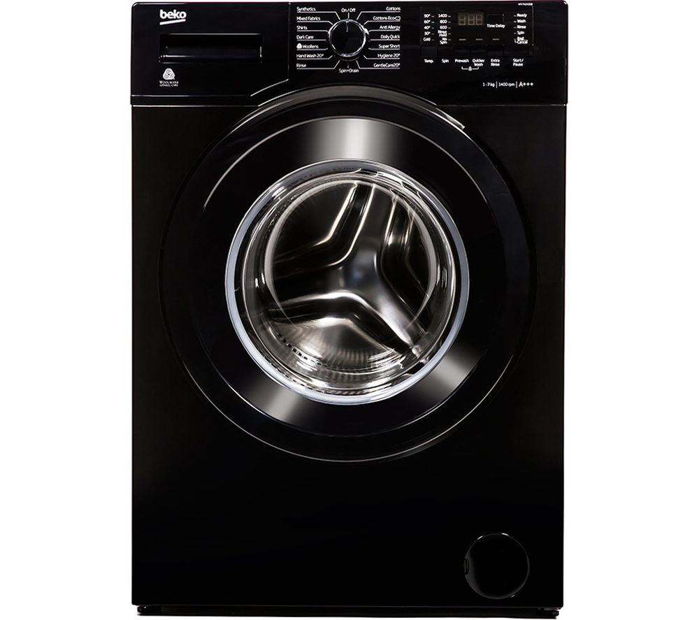 washing machine capacities