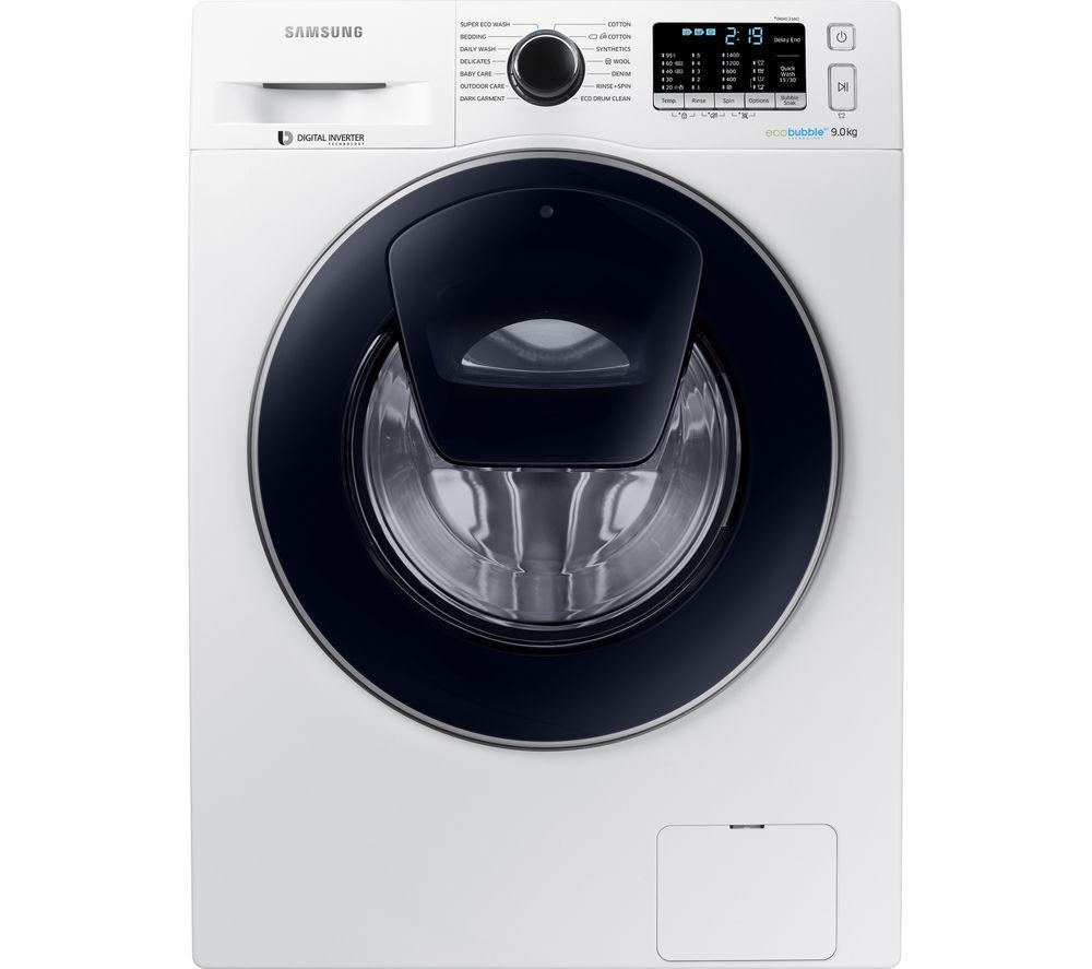 washing machine only has water