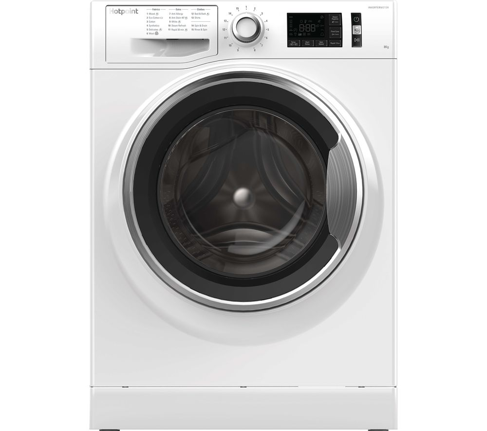 hotpoint active care nm11 845 ac washing machine