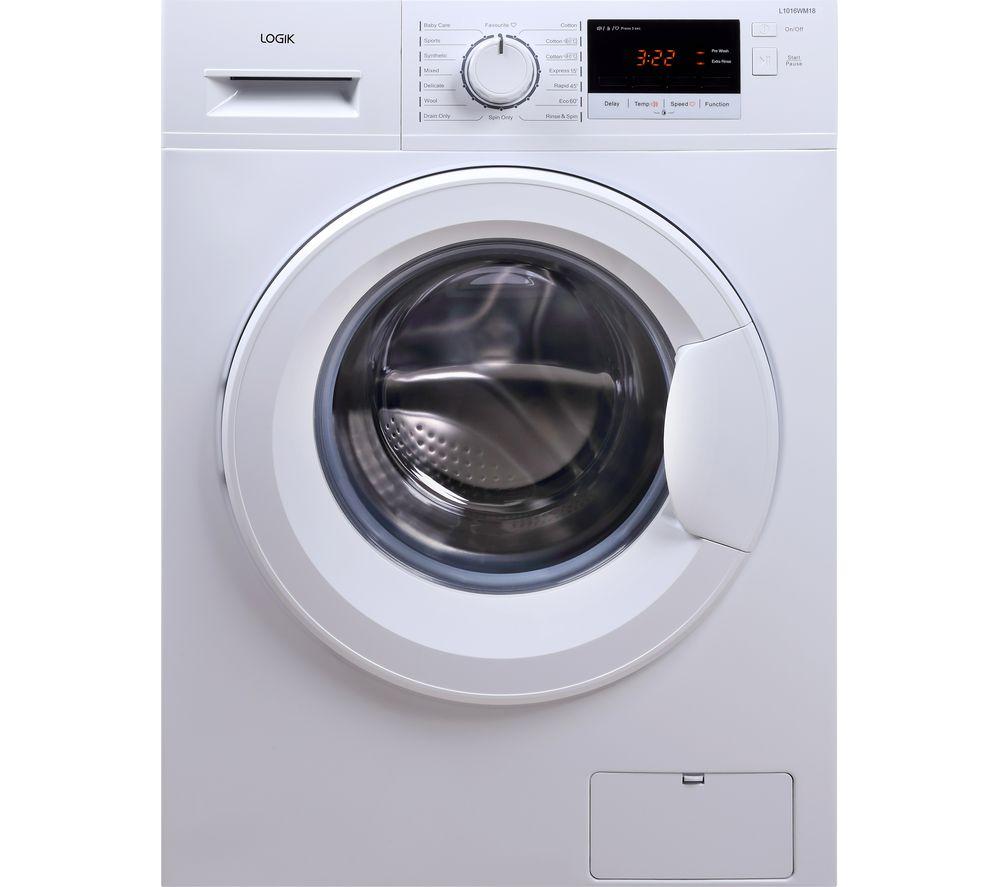 Logik L1016WM18 Washing Machine - Appliance Spotter